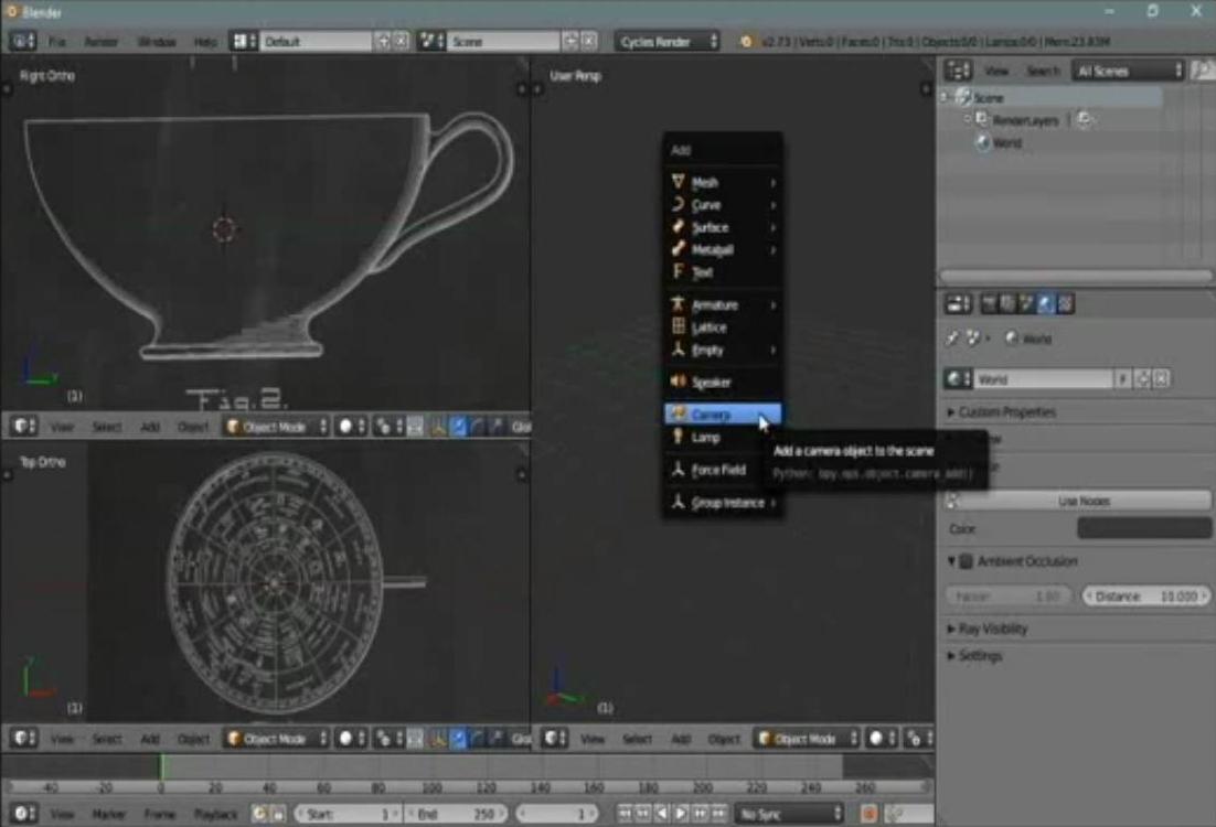 مدل سازی سهبعدی در Blender